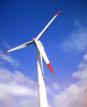 安来市の発電風車(島根県安来市)