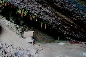 黄泉の入り口(出雲市 猪目洞窟)